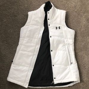 White Under Armour vest Size Small